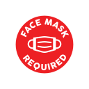 Face Mask Required Sign Printable icon
