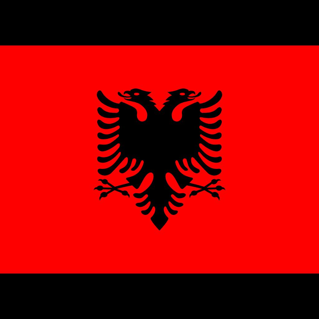 Republic of albania flag icon
