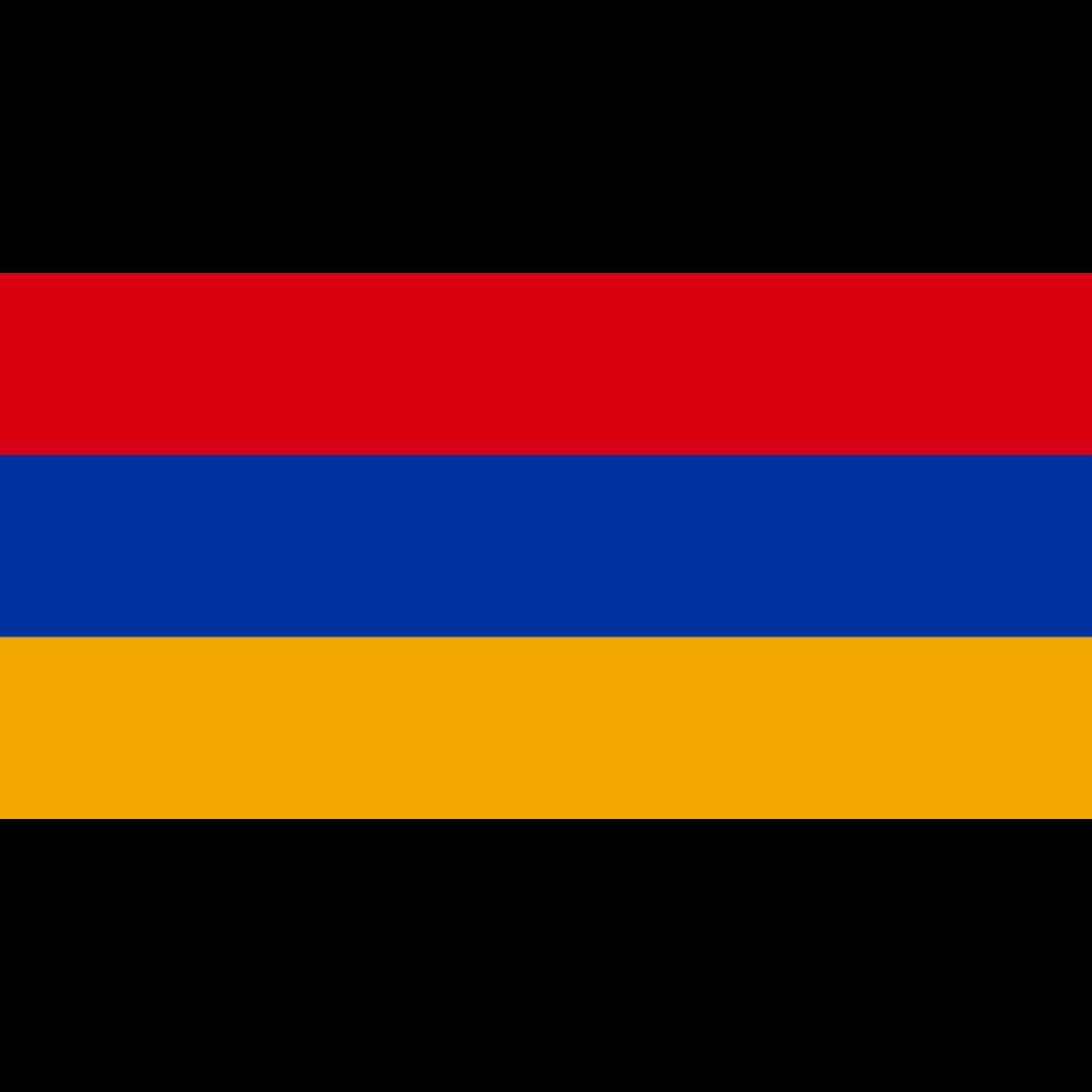 Republic of armenia flag icon