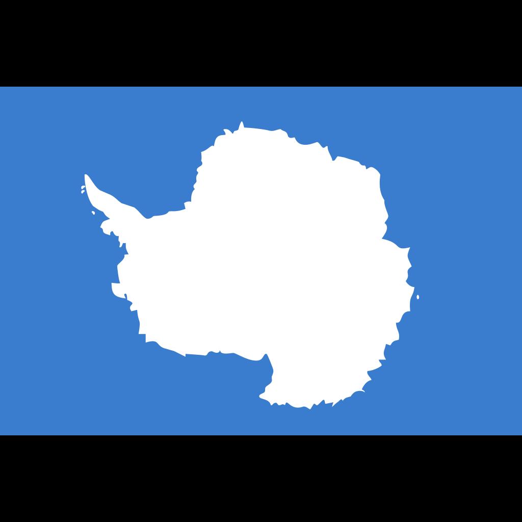 Antarctica (the territory south of 60 deg s) flag icon