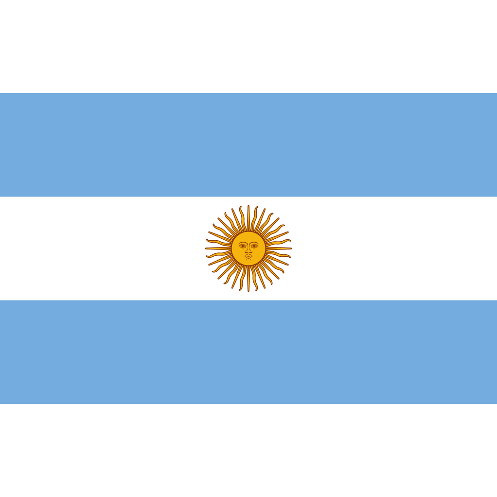 Argentine republic flag icon