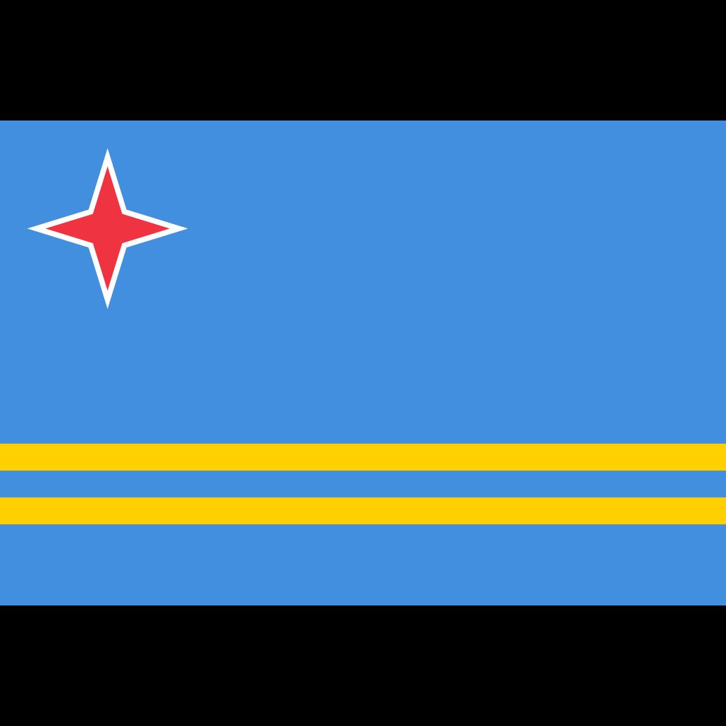 Aruba flag icon