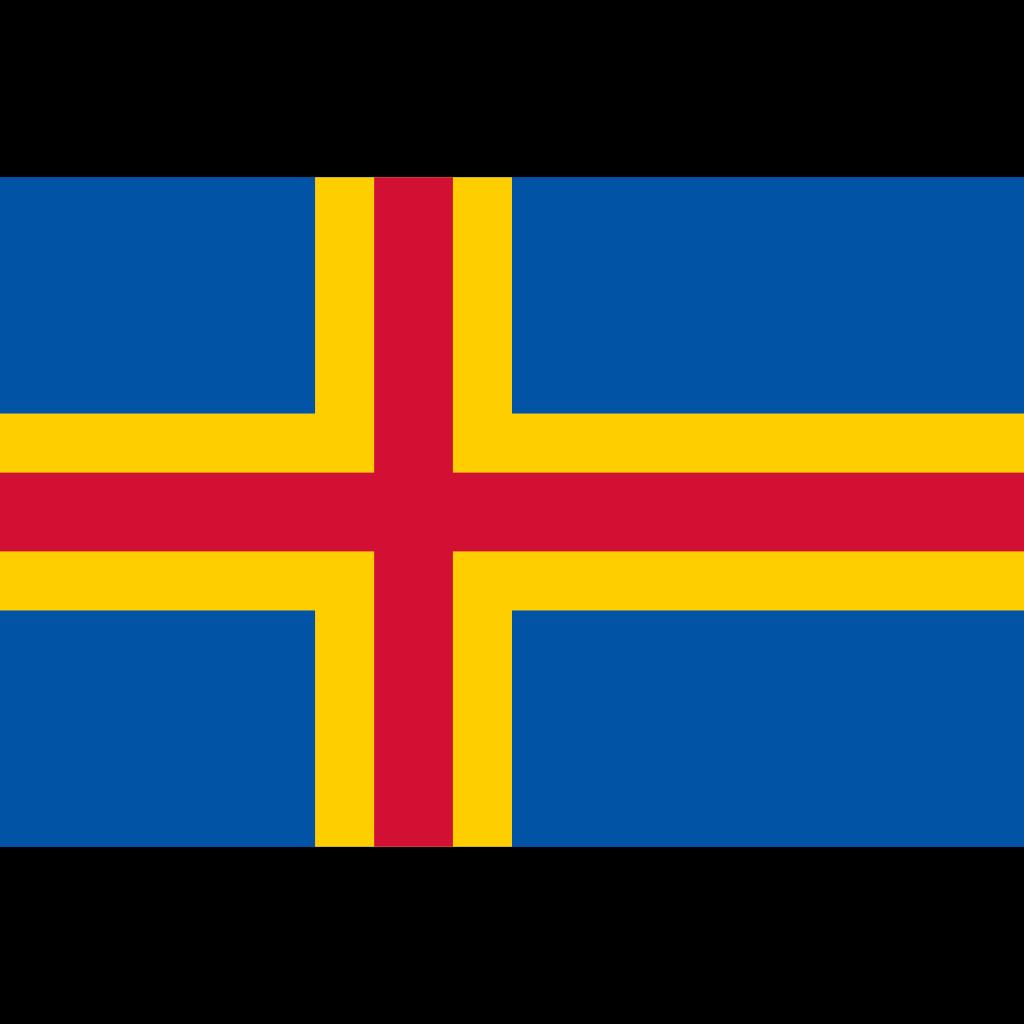 Åland islands flag icon