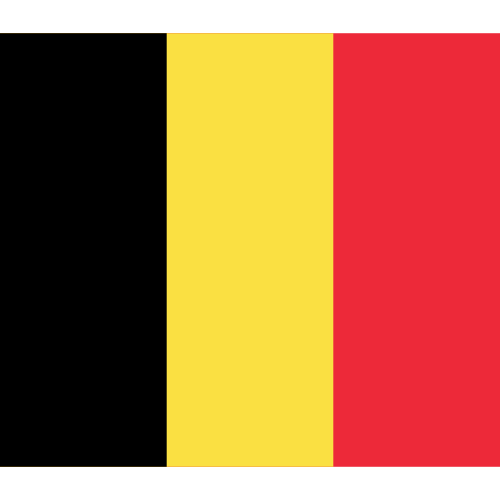Kingdom of belgium flag icon