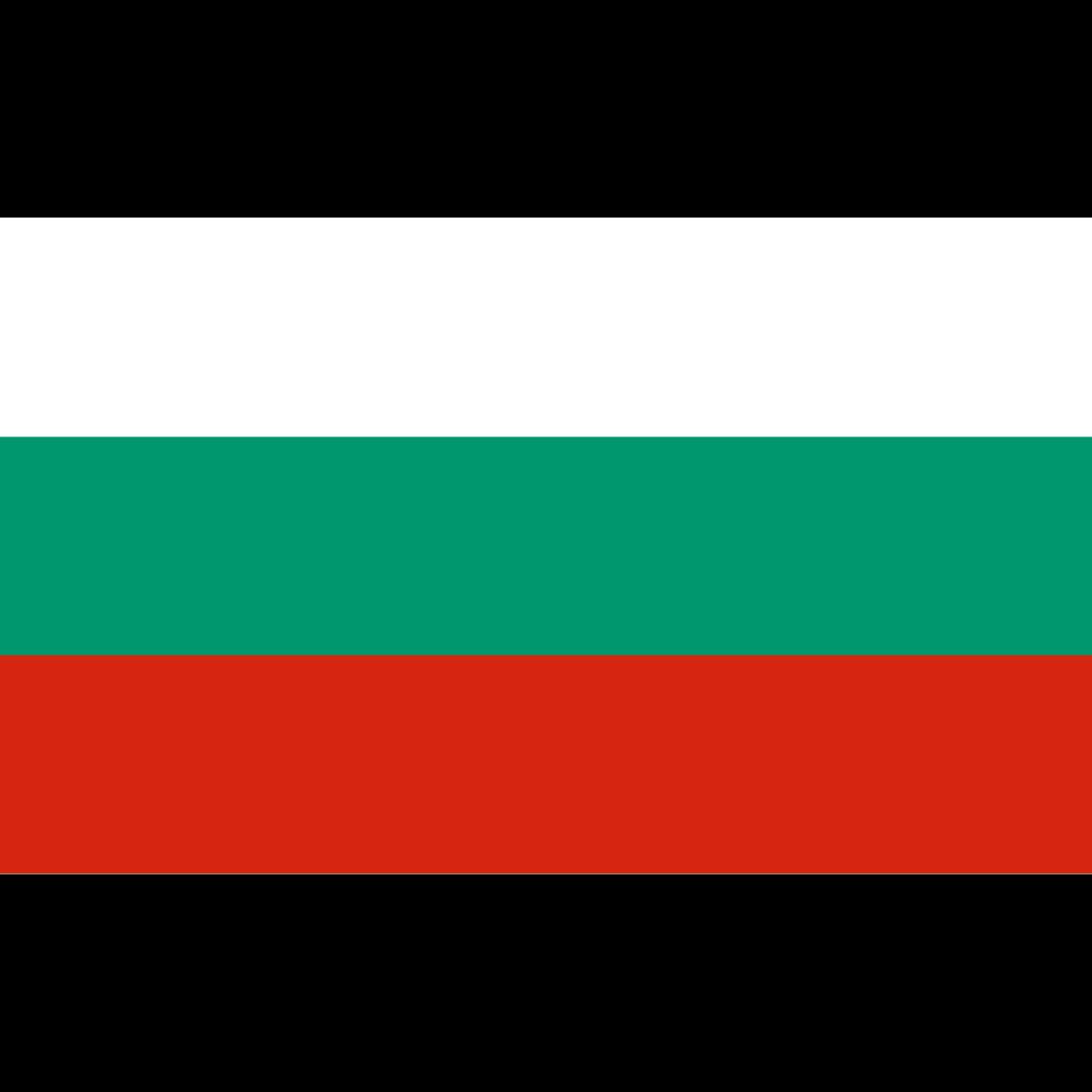 Republic of bulgaria flag icon