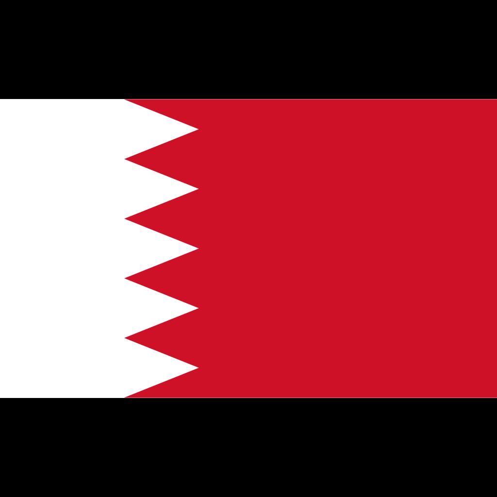 Kingdom of bahrain flag icon