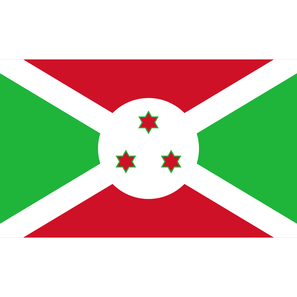 Republic of burundi flag icon