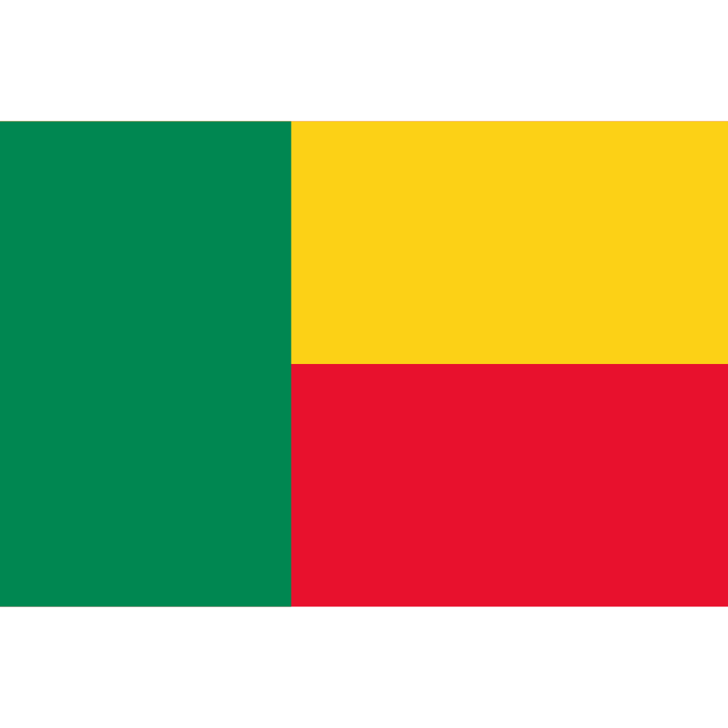 Republic of benin flag icon
