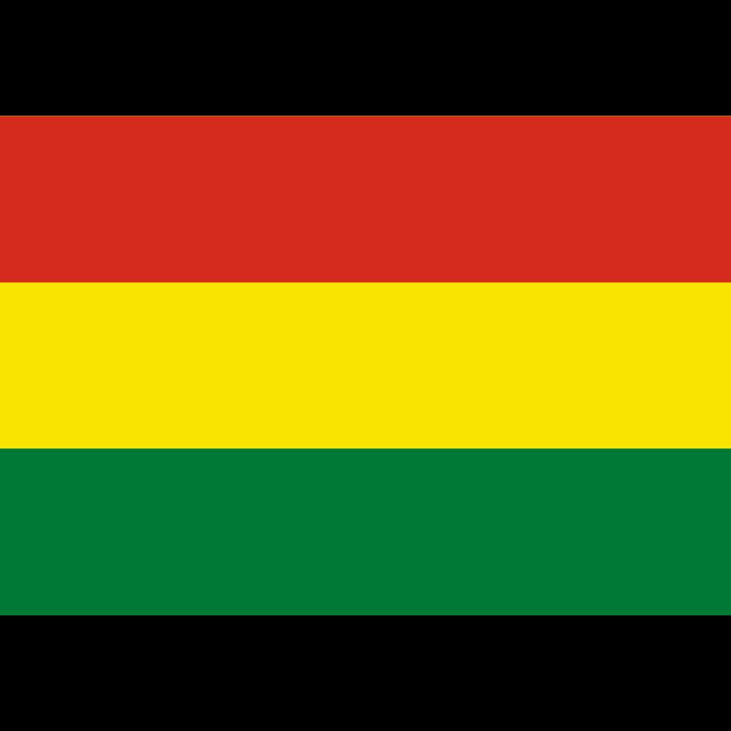 Plurinational state of bolivia flag icon
