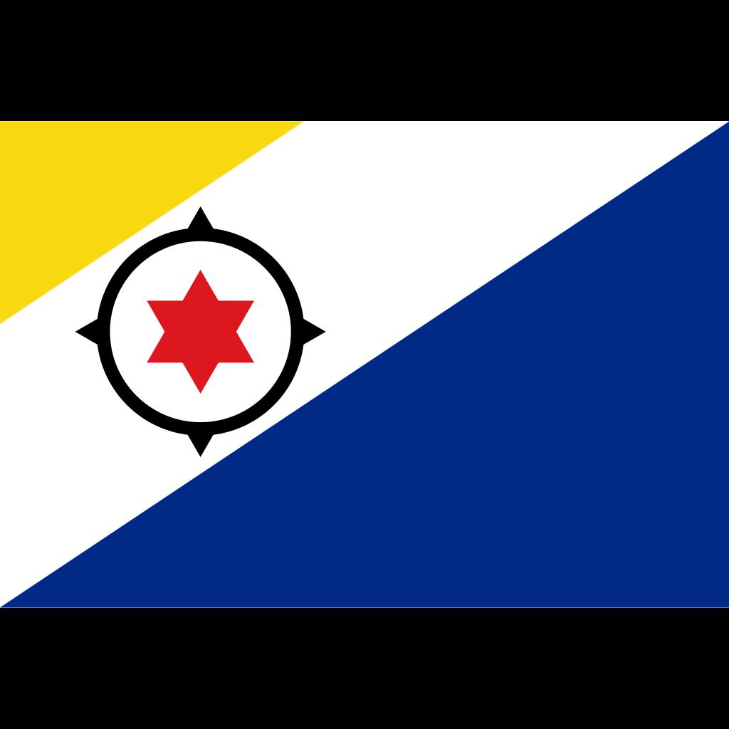 Bonaire, sint eustatius and saba flag icon