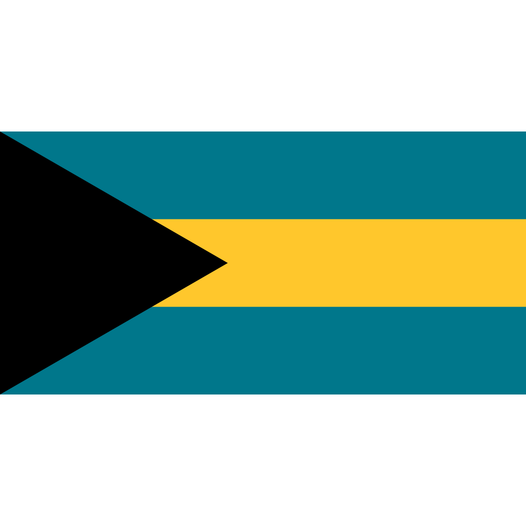 Commonwealth of the bahamas flag icon