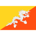Kingdom of Bhutan flag