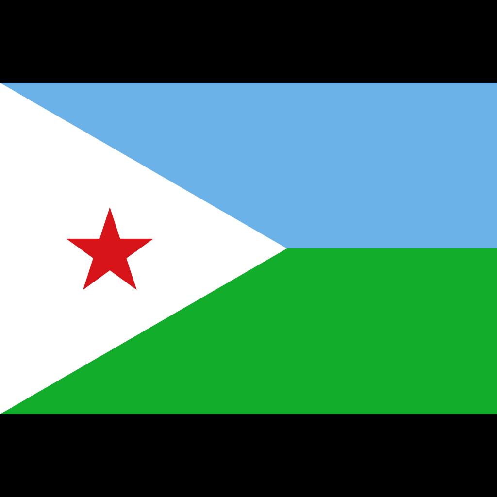 Republic of djibouti flag icon