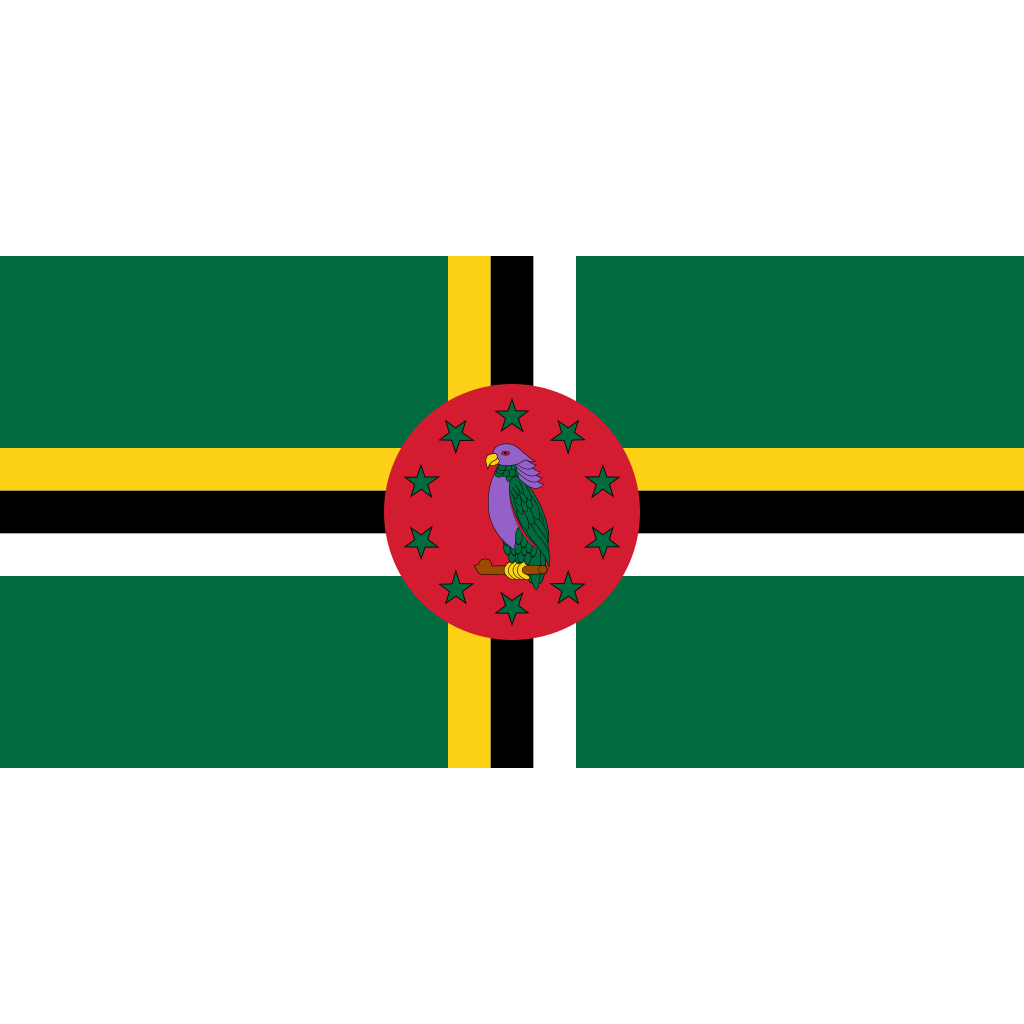 Commonwealth of dominica flag icon