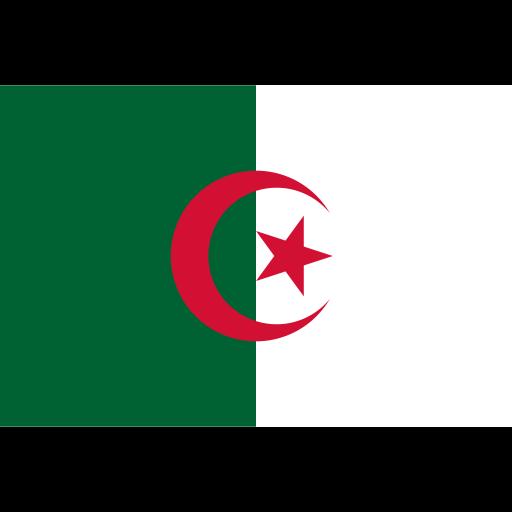 People's Democratic Republic of Algeria flag
