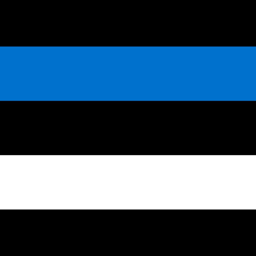 Republic of estonia flag icon