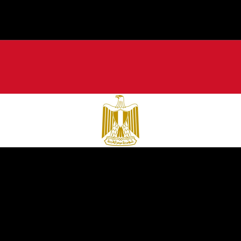 Arab republic of egypt flag icon