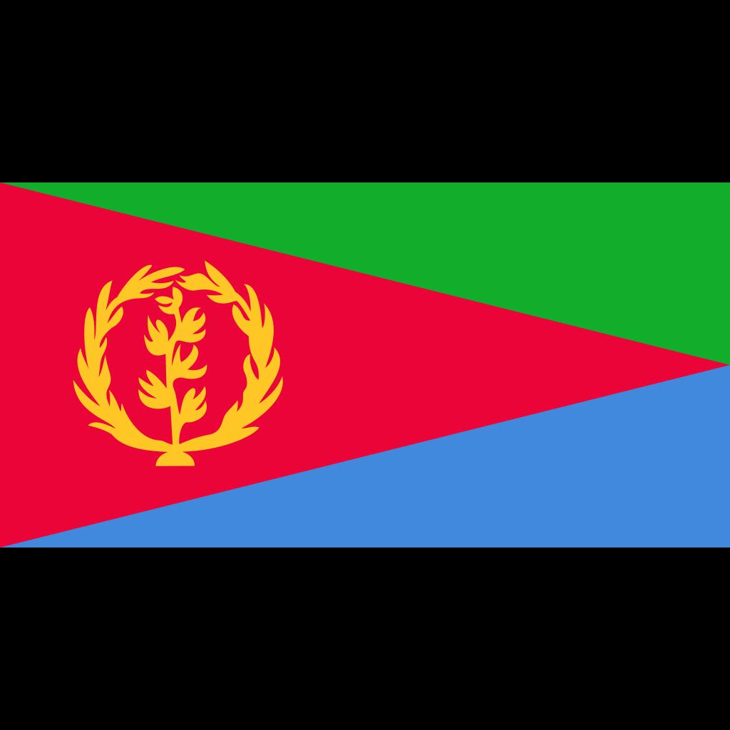 State of eritrea flag icon