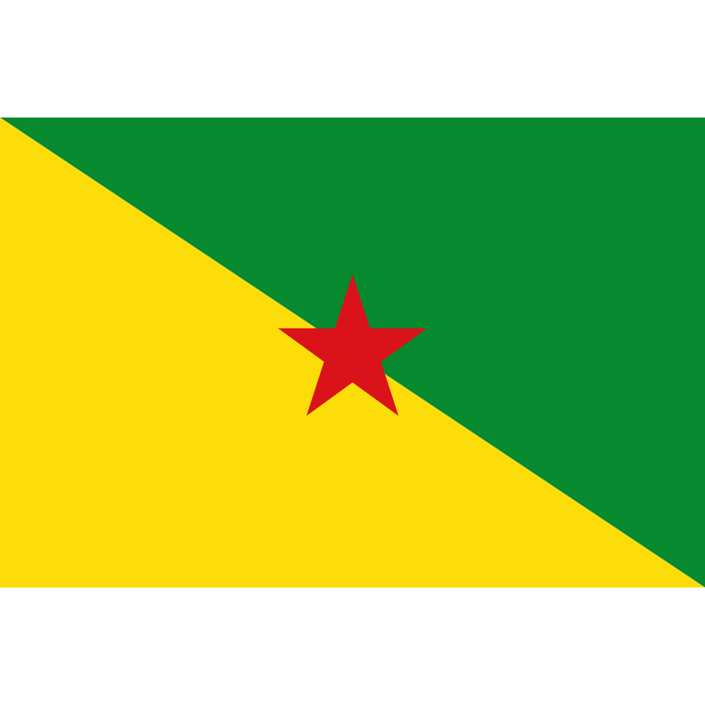 French guiana flag icon