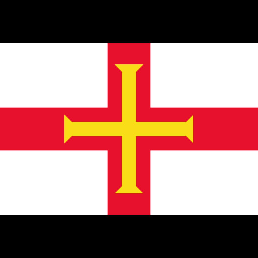 Bailiwick of guernsey flag icon