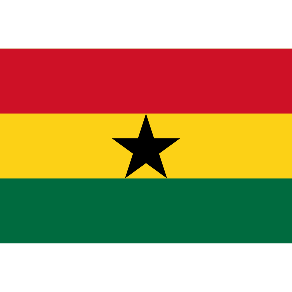 Republic of ghana flag icon