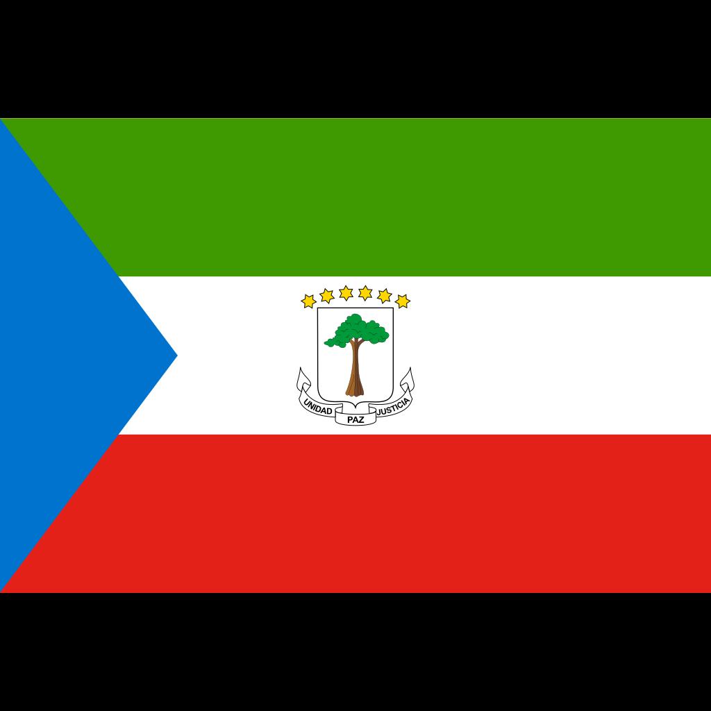 Republic of equatorial guinea flag icon