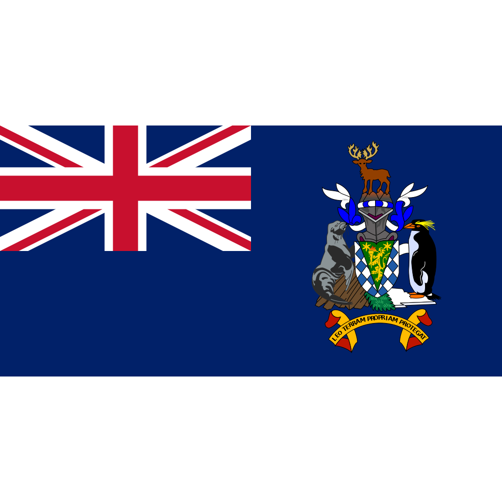 South georgia and the south sandwich islands flag icon