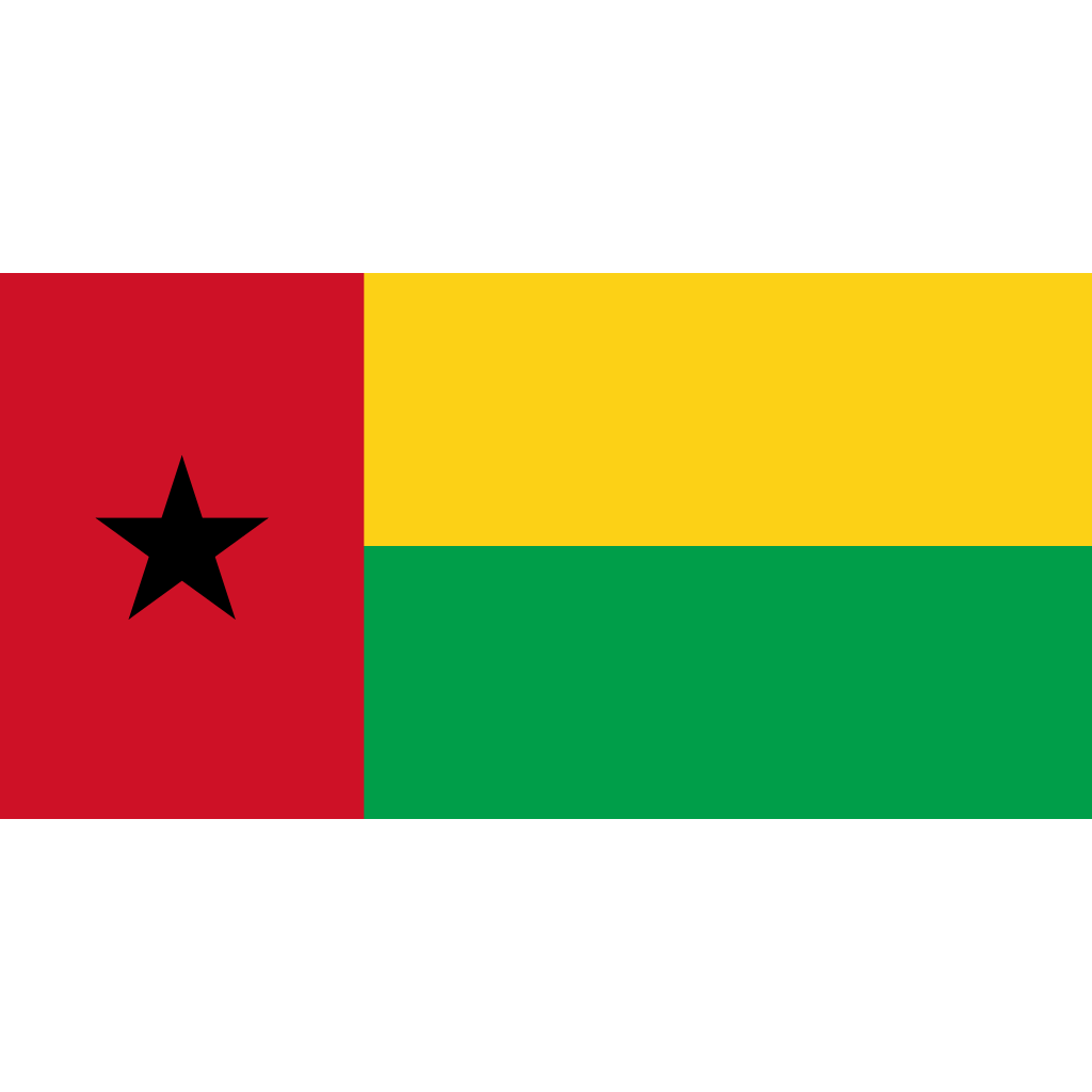 Republic of guinea-bissau flag icon