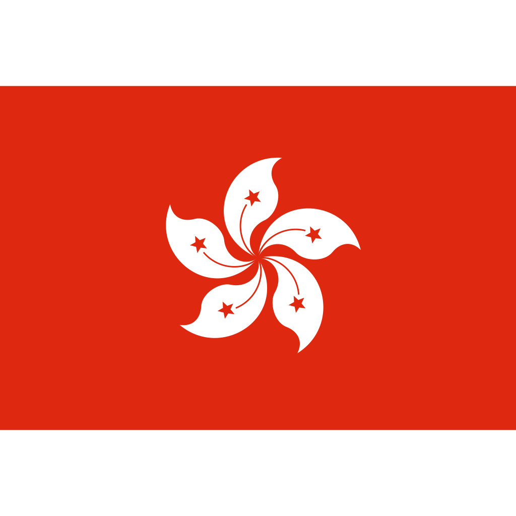 Hong kong special administrative region of china flag icon