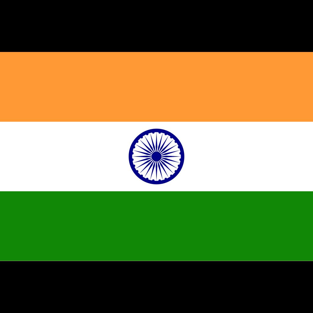 Republic of india flag icon