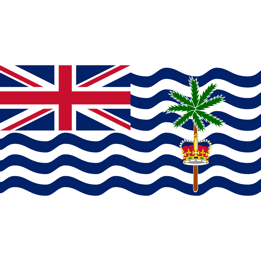 British indian ocean territory (chagos archipelago) flag icon