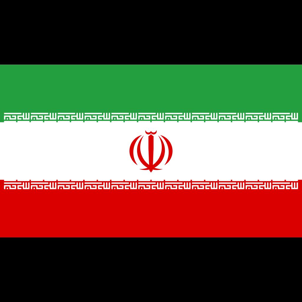 Islamic republic of iran flag icon