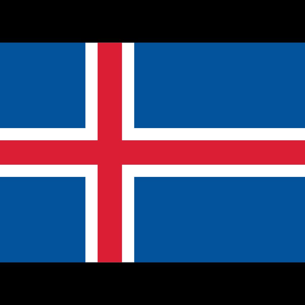 Republic of iceland flag icon