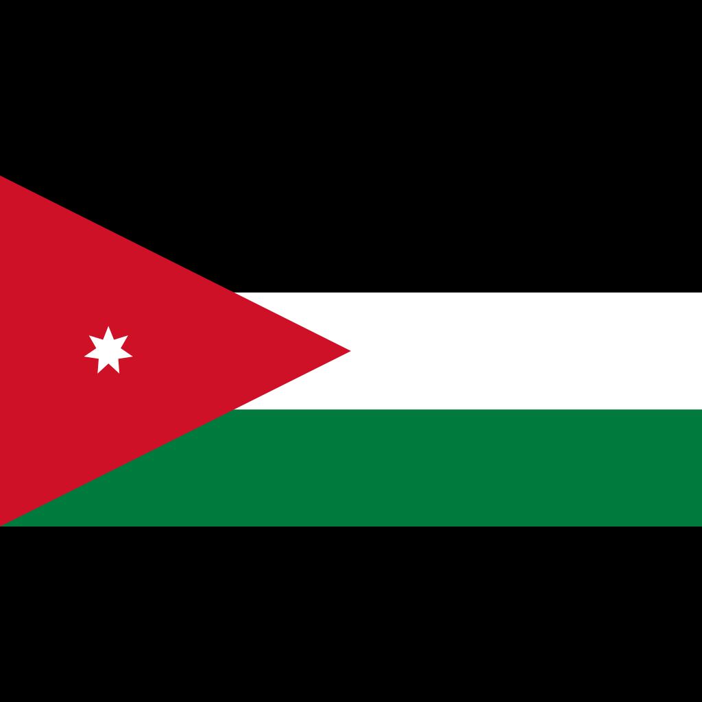 Hashemite kingdom of jordan flag icon