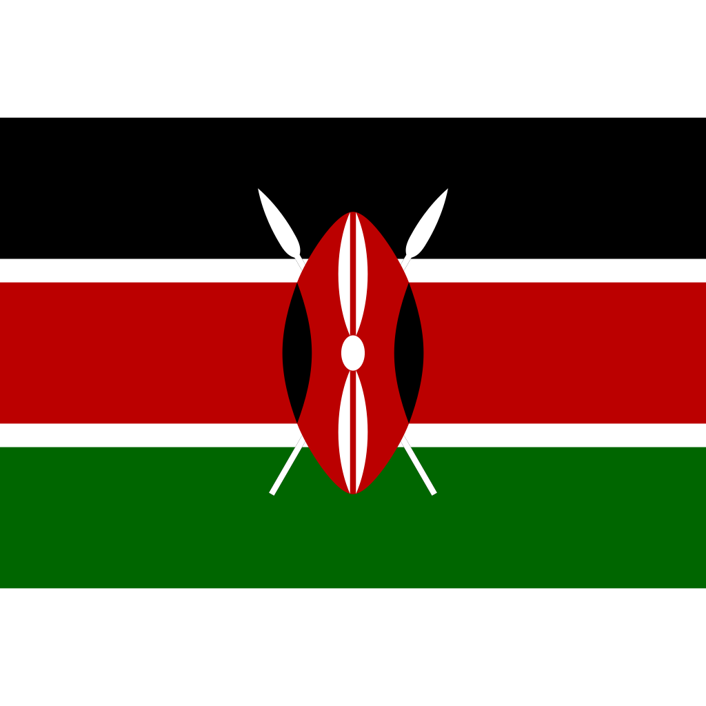 Republic of kenya flag icon