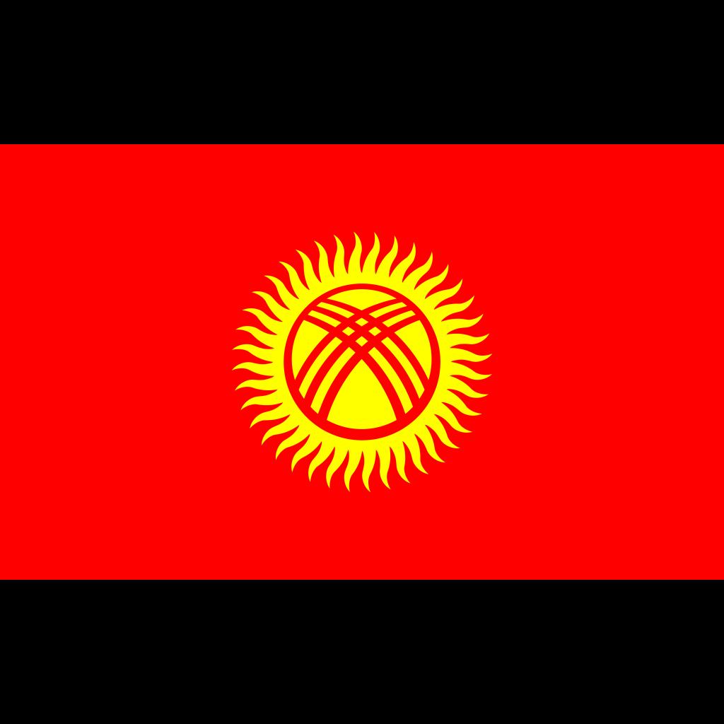 Kyrgyz republic flag icon