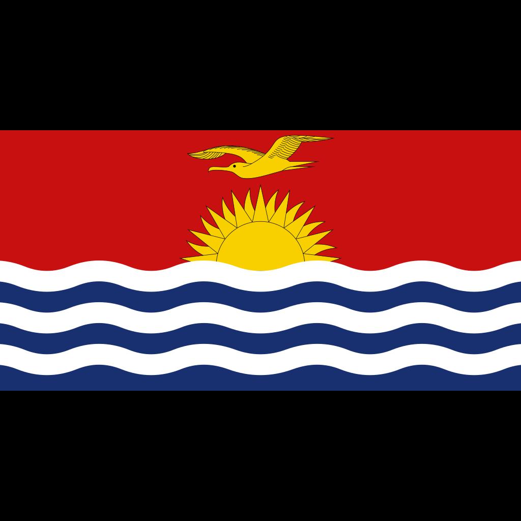 Republic of kiribati flag icon