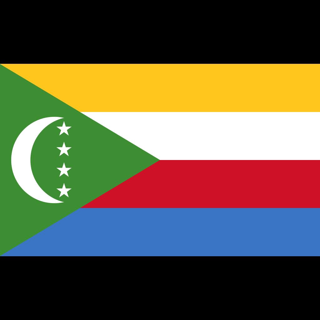 Union of the comoros flag icon