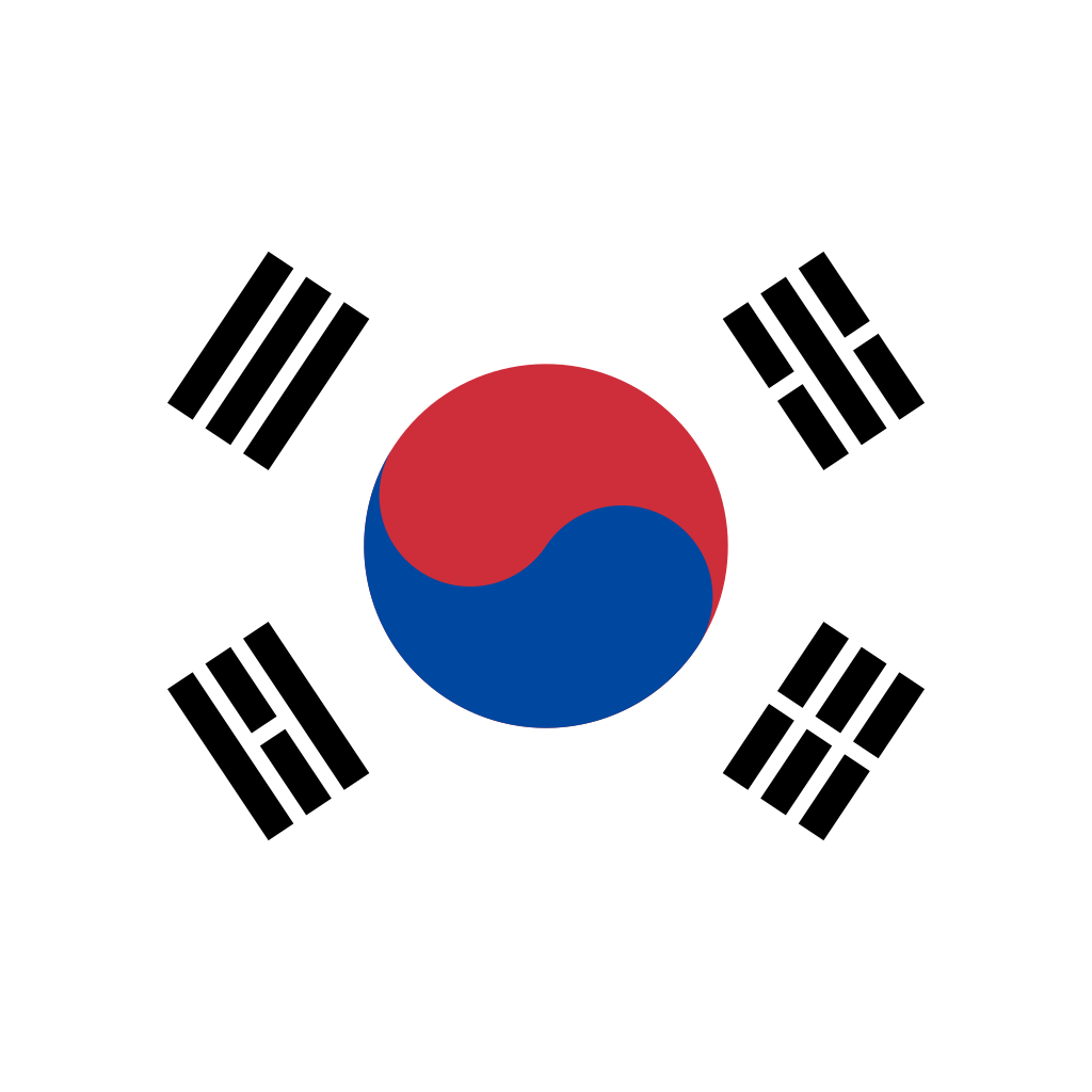 Republic of korea flag icon
