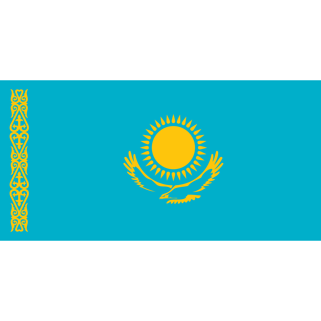 Republic of kazakhstan flag icon