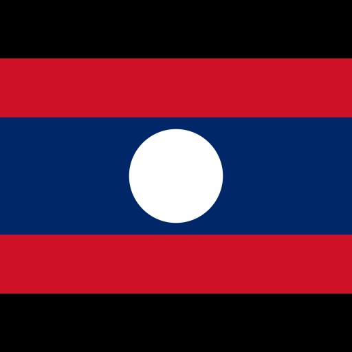 Lao People's Democratic Republic flag