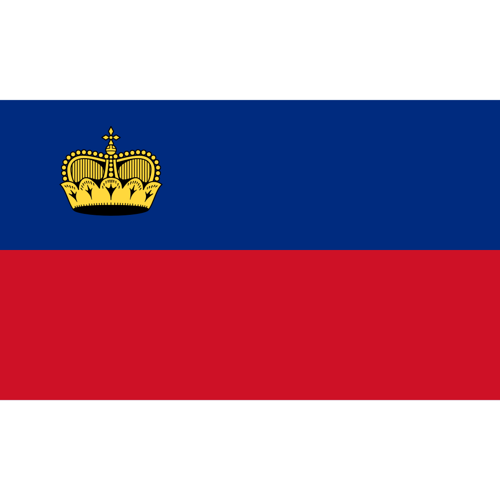 Principality of liechtenstein flag icon