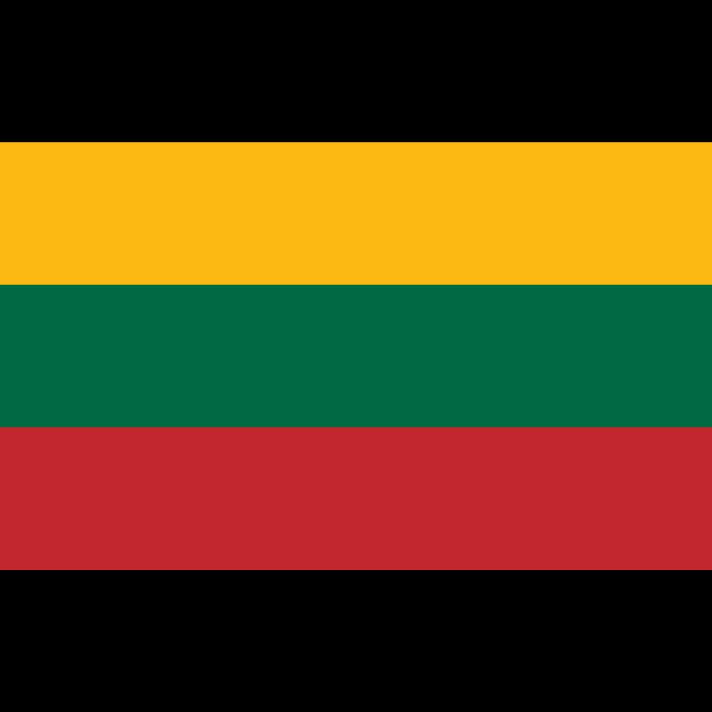 Republic of lithuania flag icon