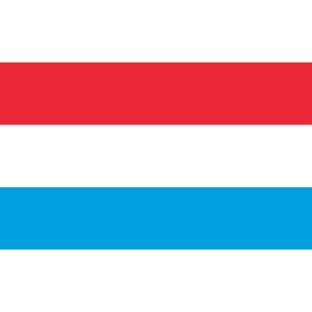 Grand duchy of luxembourg flag icon