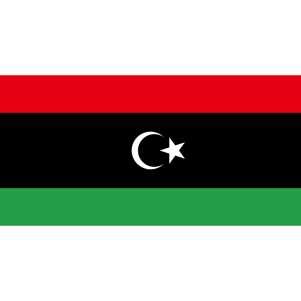 State of libya flag icon