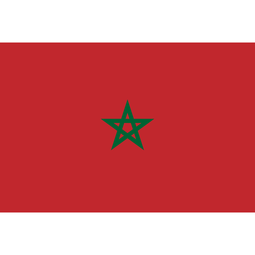 Kingdom of morocco flag icon