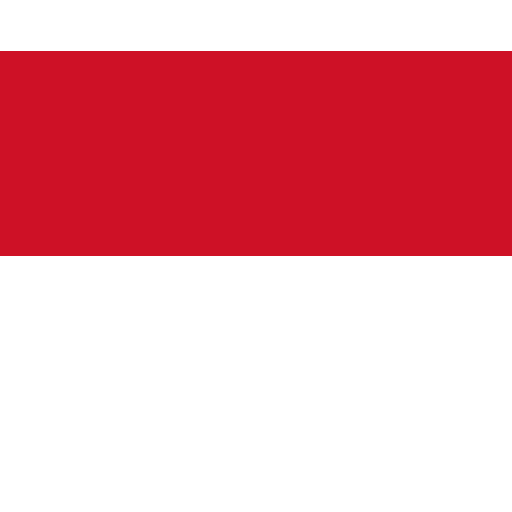 Principality of monaco flag icon