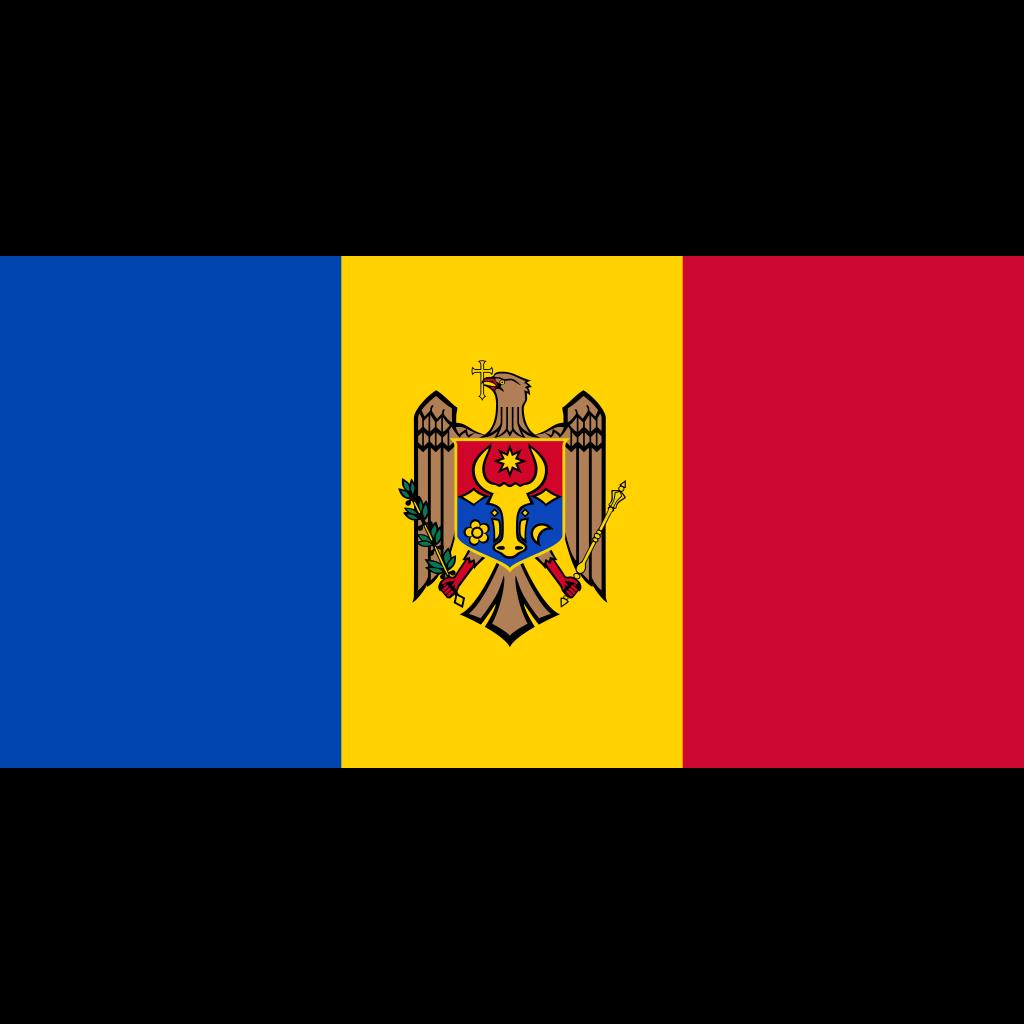Republic of moldova flag icon