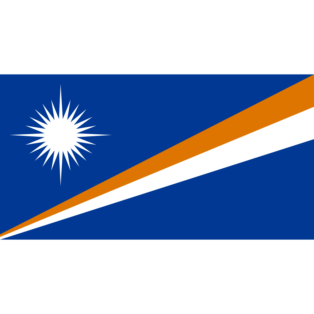 Republic of the marshall islands flag icon