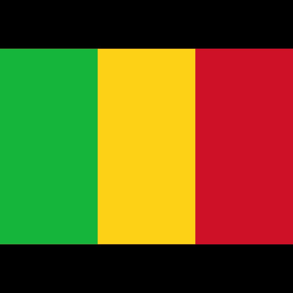 Republic of mali flag icon